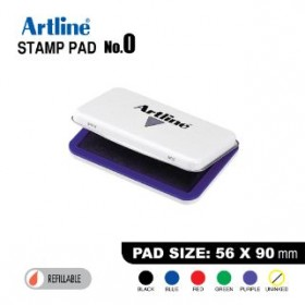 ARTLINE STAMP PAD NO.0 EHJ-2 EHJU-2 56X90mm PURPLE