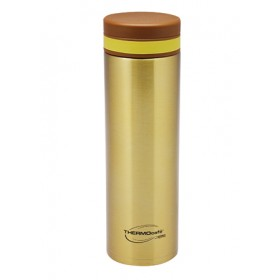 THERMOCAFE LIGHTWEIGHT VACUUM STAINLESS STEEL FLASK 480ML GOLD