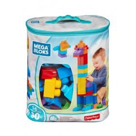 MEGA BLOKS BIG BUILDING BAG 80PCS