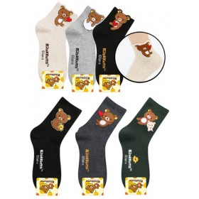 RILAKKUMA SOCKS- ASSORTED COLOURS