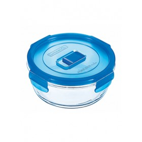 LUMINARC PURE BOX TEMPERED GLASS FOOD CONTAINER 670ML