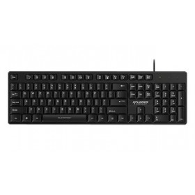 ALCATROZ XPLORER K330 SILENT HI-DEFINITION USB WIRED KEYBOARD