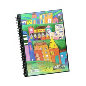POP ARTZ  SKETCH BOOK A4 125 GSM 60 SHEETS PA-15C-A4-A