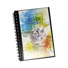 POP ARTZ SKETCH BOOK A5 125 GSM 60 SHEETS SKE-A5-8922