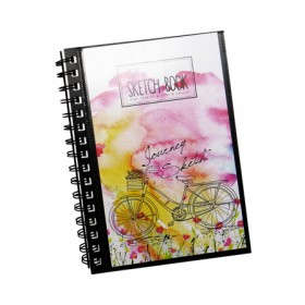 POP ARTZ SKETCH BOOK A5 125 GSM 60 SHEETS SKE-A5-8953