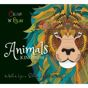 Colour and Relax: Animal Kingdom