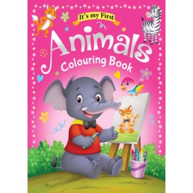 IT'S MY FIRST ANIMAL COLOURING BOOK