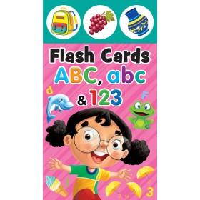 FLASH CARD: ABC, abc & 123
