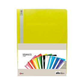 POP BAZIC MANAGEMENT FILE A4 YELLOW 12 IN 1
