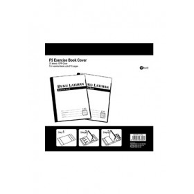 POP BAZIC OPP EXERCISE BOOK COVER CLEAR 20 IN 1