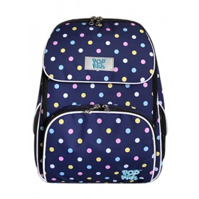 POP KIDS SCHOOL BAG - COMFORT CANDY POLKA