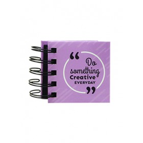 POP BAZIC SPIRAL MINI STICKY NOTE BOOK PB-0145-PUR