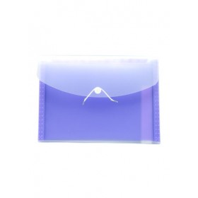 POP BAZIC EXPANDING FILE A4 13 POCKETS PURPLE