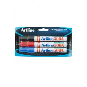 ARTLINE 500A Marker 3 Pieces in Pack - Assorted Colour