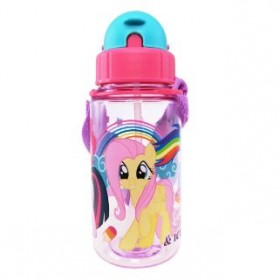 MY LITTLE PONY BOTTLE WITH STRAW 350ML