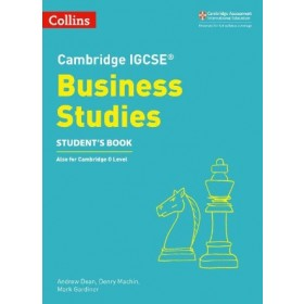Cambridge IGCSE Business Studies Student's Book