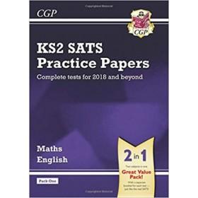 KS2 MATHS&ENG SATS PRAC PAPERS PACK 1'18