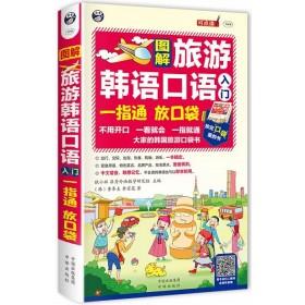 图解旅游韩语口语入门:一指通 放口袋