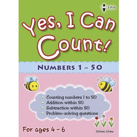 Yes, I Can Count Numbers 1-50