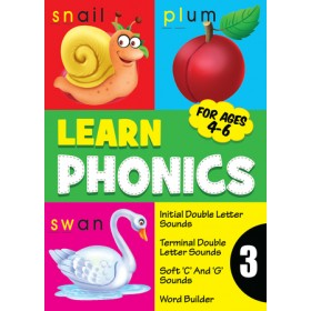LEARN PHONICS BOOK 3(AGES 4-6)