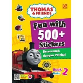 FUN WITH 500+ STICKERS BOOK 2 < BERSERONOK DENGAN 500+PELEKAT (BUKU 2) >
