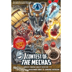 X-VENTURE THE GOLDEN AGE OF ADVENTURES 34: CONTEST OF THE MECHAS