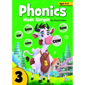 PHONICS MADE SIMPLE FOR PRESCHOOLERS BOOK 3