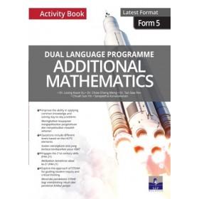 TINGKATAN 5 DUAL LANGUAGE PROGRAMME ADDITIONAL MATHEMATICS ACTIVITY BOOK