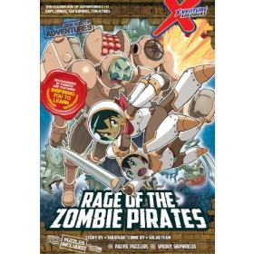 X-VENTURE THE GOLDEN AGE OF ADVENTURES 03: RAGE OF THE ZOMBIE PIRATES