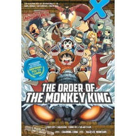 X-VENTURE THE GOLDEN AGE OF ADVENTURES 06: THE ORDER OF THE MONKEY KING