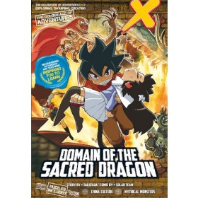 X-VENTURE THE GOLDEN AGE OF ADVENTURES 07: DOMAIN OF THE SACRED DRAGON