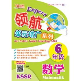六年级 领航单元增广系列 数学 <Primary 6 Expert Siri Praktis Topikal Cemerlang Matematik>