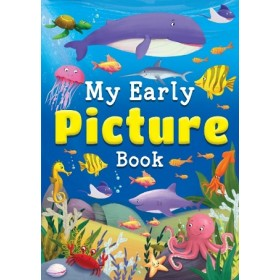 MY EARLY PICTURE WORD BOOK - BLUE