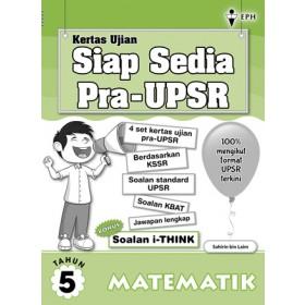Primary 5 Kertas Ujian Siap Sedia Pra-UPSR Matematik