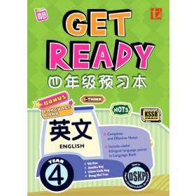 四年级 预习本英文 <Primary 4 Get Ready KSSR Semakan English>