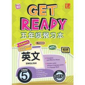五年级 预习本英文 <Primary 5 Get Ready KSSR Semakan English>