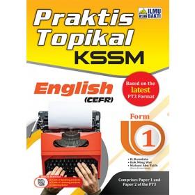 TINGKATAN 1 PRAKTIS TOPIKAL KSSM ENGLISH