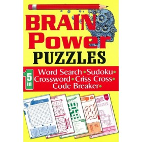 BRAIN POWER PUZZLES (5 IN 1)