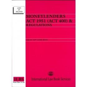 MONEYLENDERS ACT 1951 & REGULATIONS