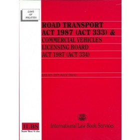 ROAD TRANSPORT ACT 1987 (ACT 333)