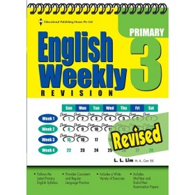 Primary 3 English Weekly Revision Revised Edition