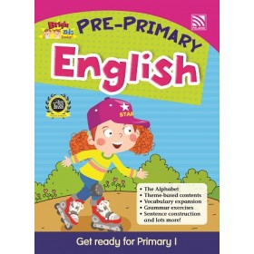 PRE-PRIMARY BRIGHT KIDS BOOKS - ENGLISH
