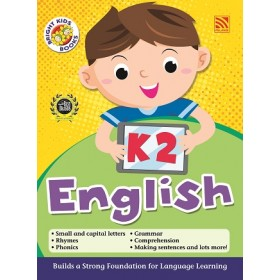 K2 BRIGHT KIDS BOOKS - ENGLISH