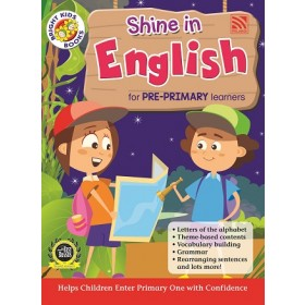 PRE-PRIMARY BRIGHT KIDS BOOKS - SHINE IN ENGLISH