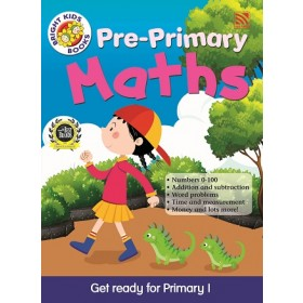 PRE-PRIMARY BRIGHT KIDS BOOKS - MATHEMATICS