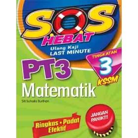 TINGKATAN 3 SOS HEBAT PT3 MATEMATIK