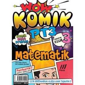 TINGKATAN 3 WOW KOMIK PT3 MATEMATIK