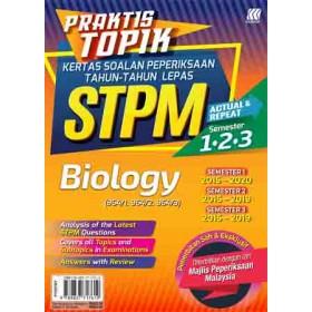 Praktis Topik KSPTL STPM Semester 1,2,3 Biology