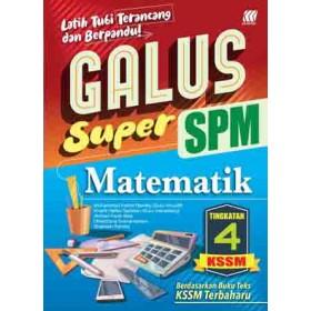 TINGKATAN 4 GALUS SPM MATEMATIK