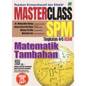 MASTERCLASS SPM MATEMATIK TAMBAHAN